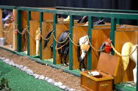 breyer models were used at the 2013 intercollegiate horse show