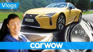 lexus lc 500 configurator lexus lc500 review tested on the autobahn and in the alps mat