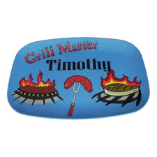 personalized bbq platter personalized grill master serving platter 14x10
