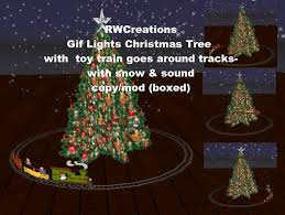 second life marketplace animated gif lights christmas tree with