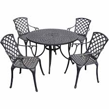 Cast Aluminum Patio Table And Chairs by Crosley Furniture Sedona 46