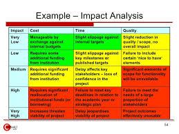 project analysis report template impact analysis template asafon ggec co