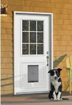 Exterior Pet Door Jeld Wen Unleashes Pet Doors Window Door