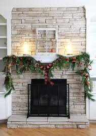 how to diy a fireplace christmas swag in 3 steps lowe u0027s canada