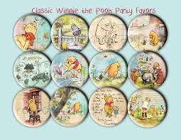 baby shower favors classic winnie the pooh images 2 25 inch
