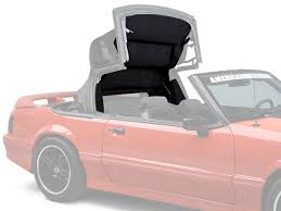1995 mustang convertible top opr mustang replacement convertible top headliner black 95037