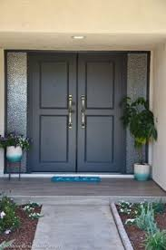 sherwin williams iron ore paint front door color pinterest
