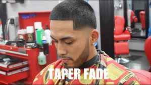 how to taper hair step by step how to do a taper fade easy fast step by step best barber one on