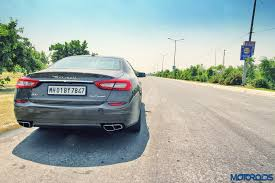 maserati india maserati quattroporte gts india review impish angel motoroids