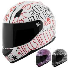 bell helmets motocross and strength ss700 hells bells womens motorcycle helmets