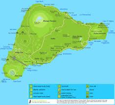 island on map detailed easter island map map of rapa nui roads moai