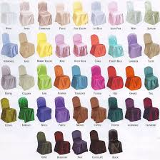 satin chair covers chair covers bcr signature events