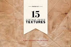vintage paper creator objects creative market