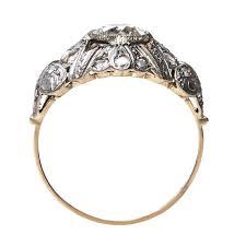 nouveau engagement rings fabulous vintage nouveau engagement ring gatewood