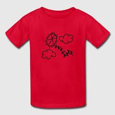 children s drawings kite t shirt spreadshirt