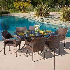 aluminum patio dining set ebay