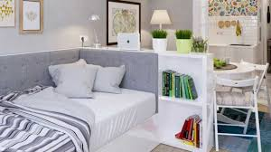 Interior Design Small Studio Apartment  Ideas YouTube - Small apartment interior design pictures