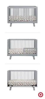 Hudson 3 In 1 Convertible Crib With Toddler Rail To It Babyletto Skip Convertible Crib Collection 329