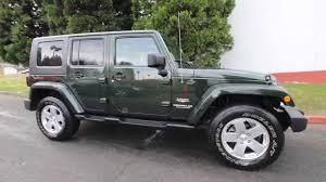 green jeep wrangler 2010 jeep wrangler unlimited sahara al215217 natural green