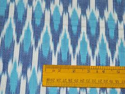 Ikat Home Decor Fabric by Ikat Cotton Fabric Homespun Ikat Fabric For Home Decor Blue White