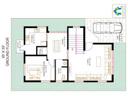 1500 square floor plans 3 bhk floor plan for 30 x 50 plot 1500 square 166