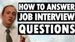 How To Answer Resume Questions How To Answer Job Interview Questions And Answers Youtube