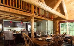 the tumbleweed log home 2884 sq ft beaver mountain