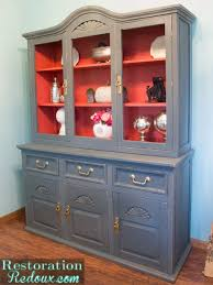 plaster painted china hutch daily dose of style