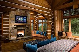 fireplace for bedroom rustic master bedroom with stone fireplace high ceiling zillow