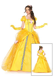 belle disney womens disney deluxe belle costume