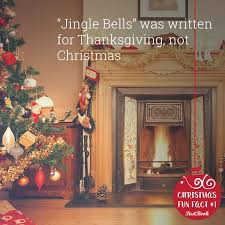jingle bells was written for thanksgiving not click the