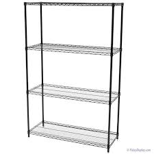 White Wire Shelving Unit by Commercial Wire Shelving Unit Fixed Shelf Commercial Wire
