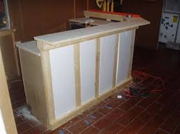 Homemade Bar Top Free Basement Wet Bar Plans