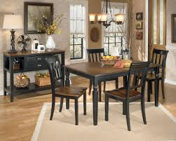 signature design by ashley owingsville 7 piece rectangular dining