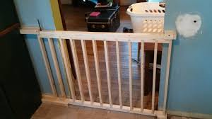 Child Stair Gates I Built A Sliding Dog Gate From Scratch Dog Baby Gates And Gates