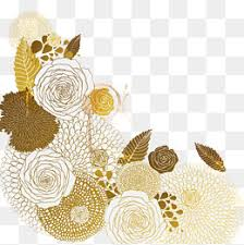 Gold Flowers Flower Vector Png Images Vectors And Psd Files Free Download