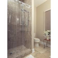 Clear Vinyl Shower Curtains Designs Vinyl Shower Curtains You Ll Wayfair