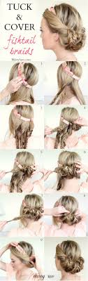 tuck in hairstyles 20 easy hairstyle tutorials for your everyday look pretty designs