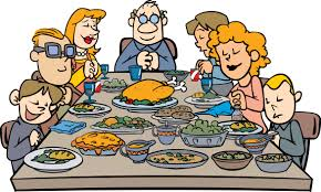food at first thanksgiving thanksgiving family clipart clipartxtras