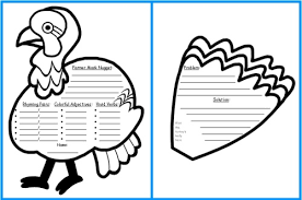 turkey thanksgiving template festival collections
