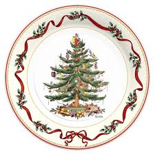 c r gibson holiday paper plates napkins u2013 spode holly u0026 ribbon