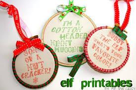 printable ornament craft snob