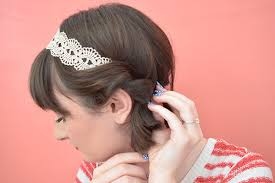 headband roll 5 easy updos for hair the luxury spot