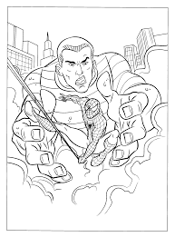 coloringpages kids spiderman coloring pages spiderman