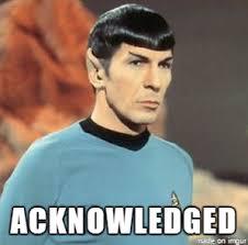 Spock Memes - spock acknowledged meme on imgur