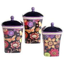 purple kitchen canister sets ceramic kitchen canisters shop the best deals for nov 2017