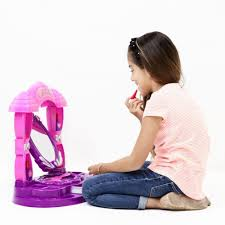 Little Girls Play Vanity Amazon Com Girls Table Top Vanity Set U201clittle Princess U201d With