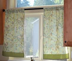 Small Window Kitchen Curtains With Simple Small Green Curtain With - Simple kitchen curtains