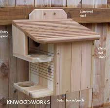 Box House Plans by Squirrel House With A Porch Crafts Pinterest Squirrel Nest