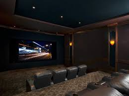 Minimalist Home Theater Design From Cedia Home Theatre Design